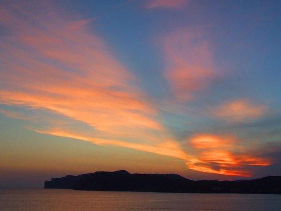 SENTIDO Punta del Mar: Sunset from room balcony