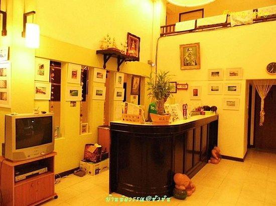 Baan Nilawan Hua-hin Hotel: เคาเตอร์