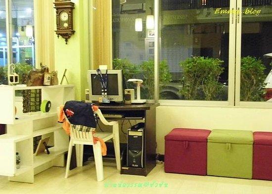 Baan Nilawan Hua-hin Hotel: มุมอินเตอร์เน็ท