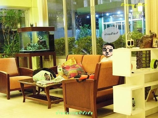 Baan Nilawan Hua-hin Hotel: ล๊อบบี้