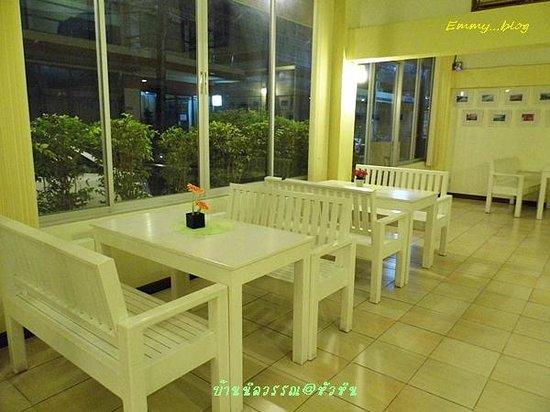 Baan Nilawan Hua-hin Hotel: ห้องอาหาร