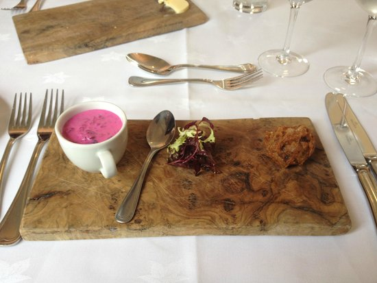 Doxford Hall Hotel: Beetroot Soup
