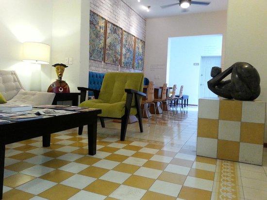 LA FE Hotel and Arts: Lobby