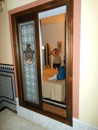 Casona de San Andres Hotel: Finestra della stanza