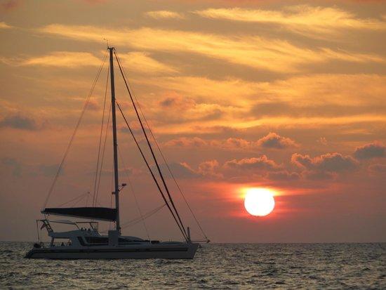 Catch Beach Club: Sonnenuntergang
