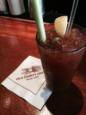 Old Ebbitt Grill : Bloody Mary courtesy of Sean. Delish!