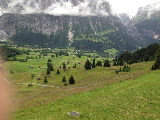 Grindelwald, Switzerland: Trilhas.