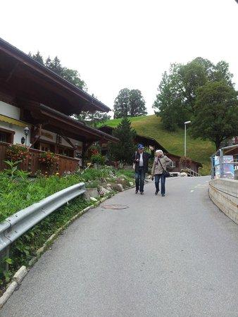 Grindelwald, Switzerland: Vilarejo.