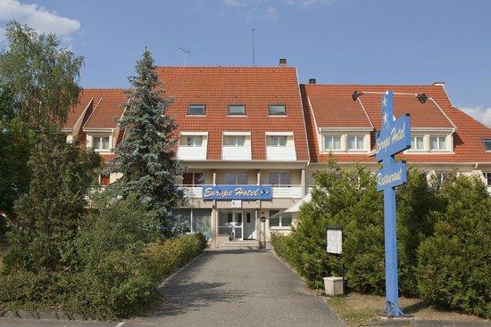 Europe Hotel : Entrée Hôtel