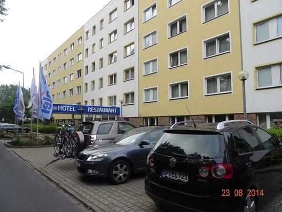 elbotel Rostock: facade de l'hotel