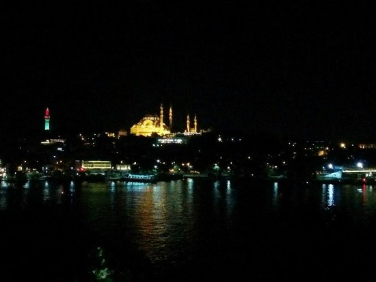 Istanbul Golden City Hotel: Golden View