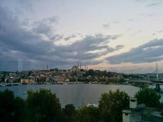 Istanbul Golden City Hotel : Golden View