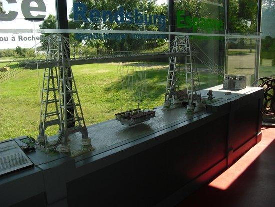 Pont Transbordeur - Maison du Transbordeur : maquette qui ce trouve dans le musée