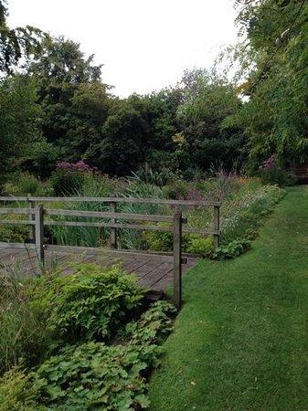 Gooderstone Water Gardens & Nature Trails : over the bridge...