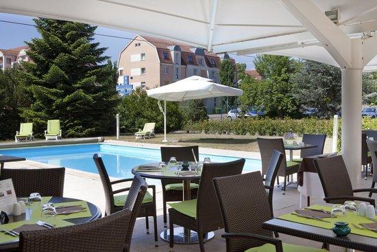 Europe Hotel : Terrasse restaurant