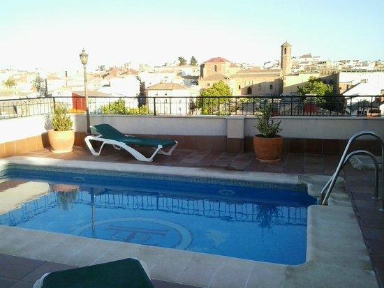 Hotel Santiago : Piscina