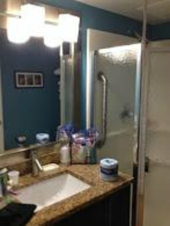 Holiday Inn Resort Daytona Beach Oceanfront : Small vanity.