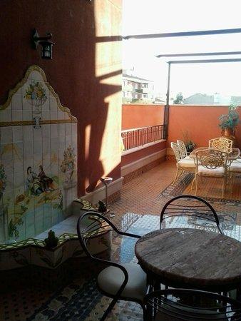 Hotel Santiago : Patio interior