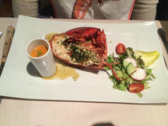 Verdi: 1/2 baby lobster - starter