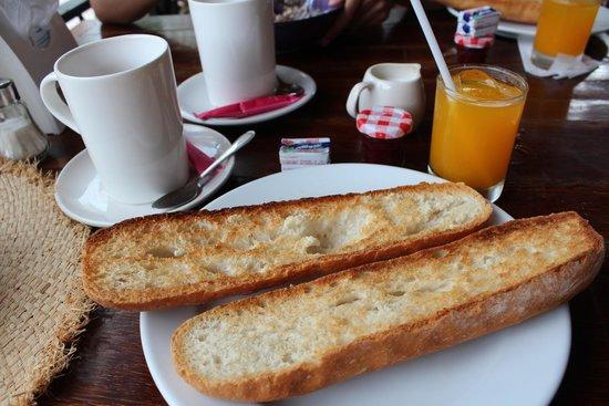 cafe del sol: french breakfast