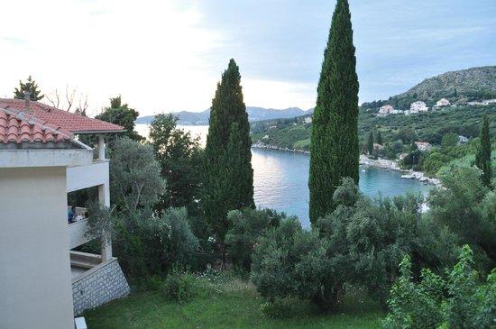 Villas Plat : View from room.