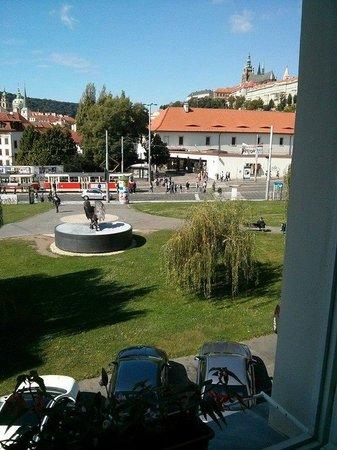 Hotel Klarov Prague : View from our window