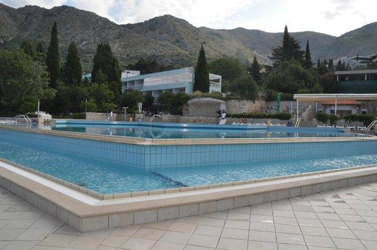 Villas Plat : Our pool.