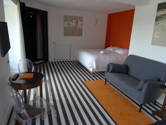 Manoir Dalmore : Unser Zimmer