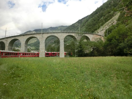 Zani Viaggi Day Tours : Bernina Express