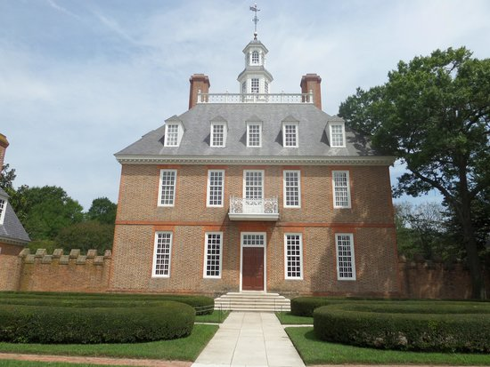 Colonial Williamsburg, The Governors Palace.