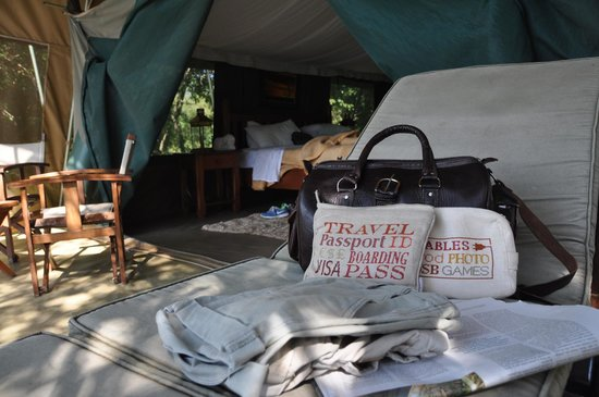 Ilkeliani Camp : Tent no 8