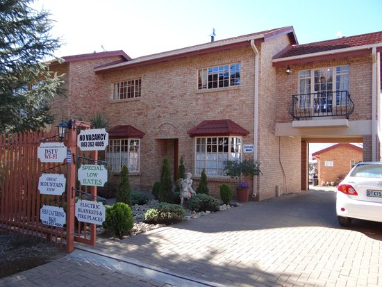 Clarens Eddies: View from the street
