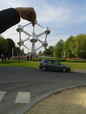 Atomium : El Atomo en Bruselas
