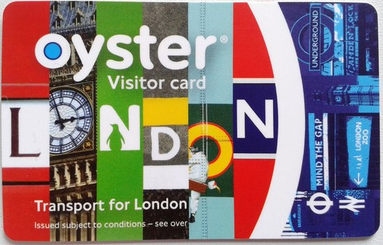 London Underground: Oyster Card / Visitor Card