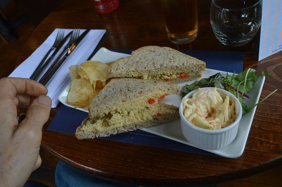 The Boat Hotel Bistro : A world-class sandwich