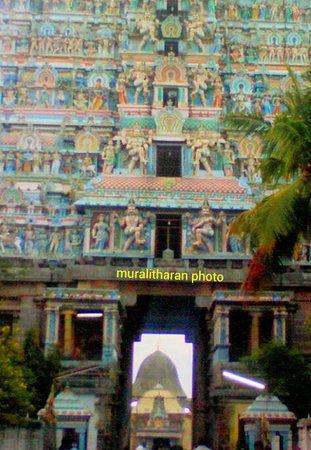 Chidambaram Nataraja Temple: KANAKASABAI (Gold roof Garbagraham)- MURALITHARAN photo