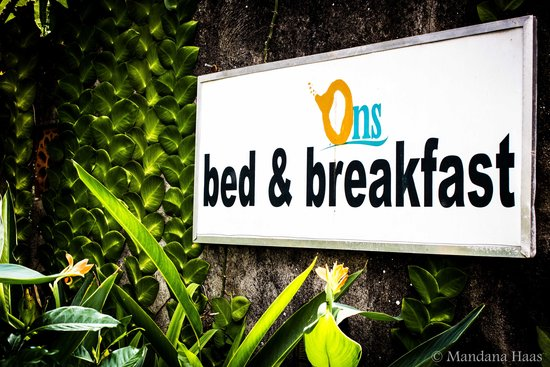 Ons Bed and Breakfast: ONS