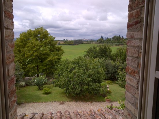 Villa La Lodola : la beautée du paysage