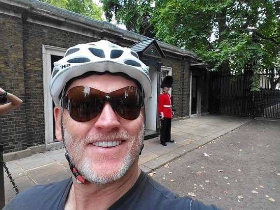 The London Bicycle Tour Company: And you think what I have on my head is silly...