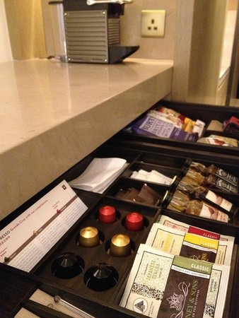 Grand Hyatt Hong Kong : Nespresso delights