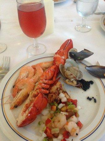 Iberostar Ciudad Blanca: Food in restaurant