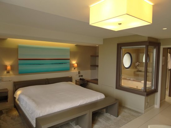 Hostellerie de la Pointe Saint-Mathieu : Unser Zimmer