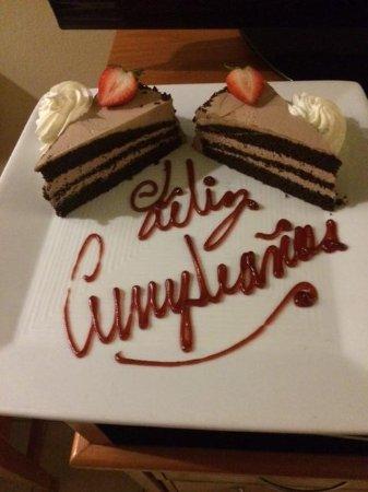Hilton Ponce Golf & Casino Resort: cake