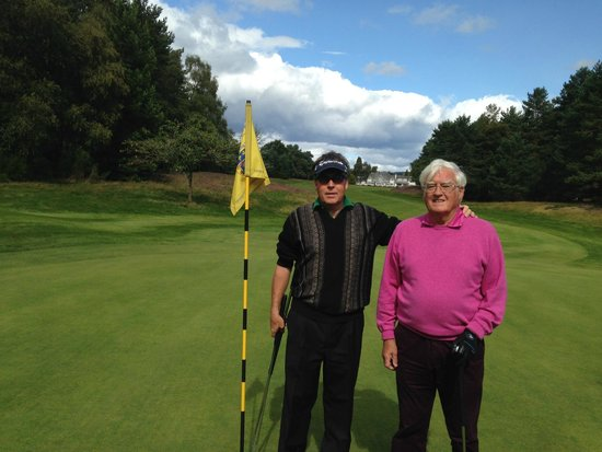Blairgowrie Golf Club: Fun on the Rosemount course with my father!