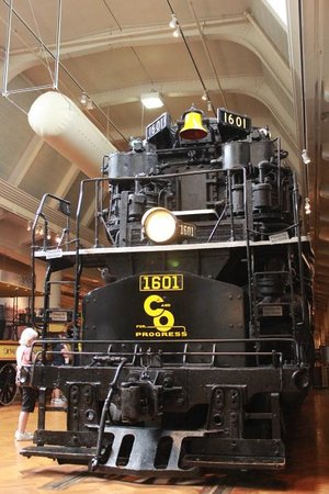 C&O Steam Engine - Picture of The Henry Ford, Dearborn ...