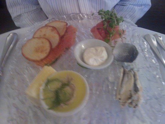 The Wensleydale Heifer : Beautiful fish platter