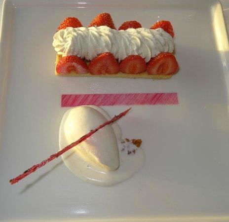 Hôtel Brittany & Spa : Dessert 1