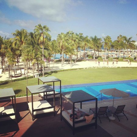 Hotel Riu Palace Peninsula: Our view