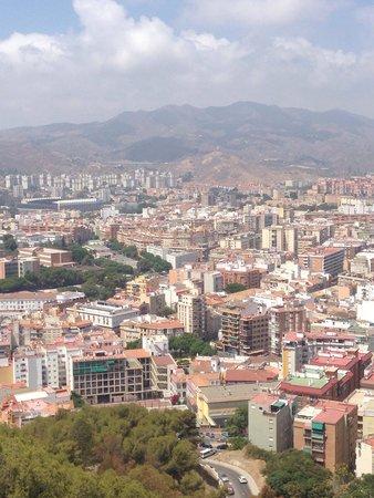 Castillo de Gibralfaro : View