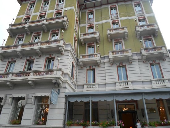 Hotel Pallanza: vue exterieure